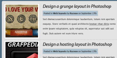 Простой дизайн сайта