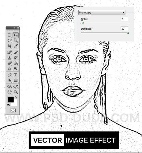 Преобразование изображения в вектор