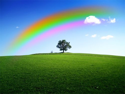 Создаём радугу