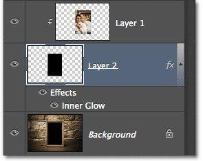Обтравочная маска в Photoshop