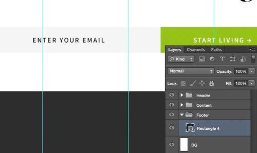 Дизайн целевой страницы