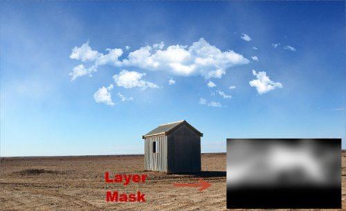 Добавляем облака на пустое небо в Photoshop